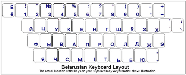 a054e3936cb Russian Keyboard Stickers White Overlays